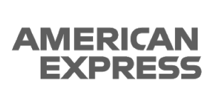 American Express Logo Grey
